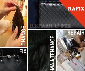 神戸市をはじめ兵庫県で革製品の修理やリペアはRAFIX兵庫にお任せください